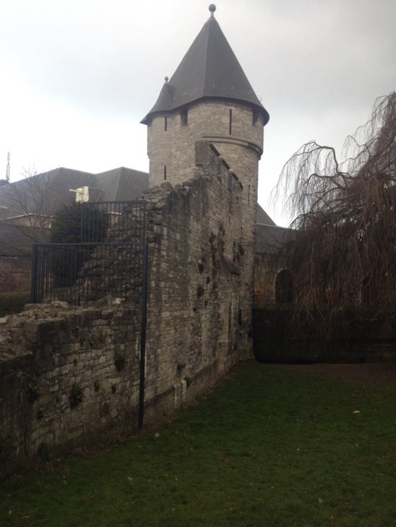 The Old City Wall and entrance to the City Park.